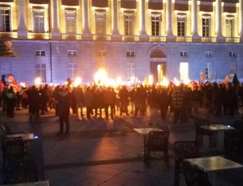 Manifestation St Jean de maurienne 29/01/2020