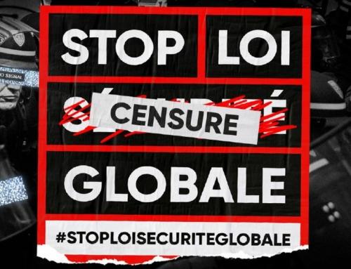 Manifestation contre la loi de sécurité globale 30/01/21